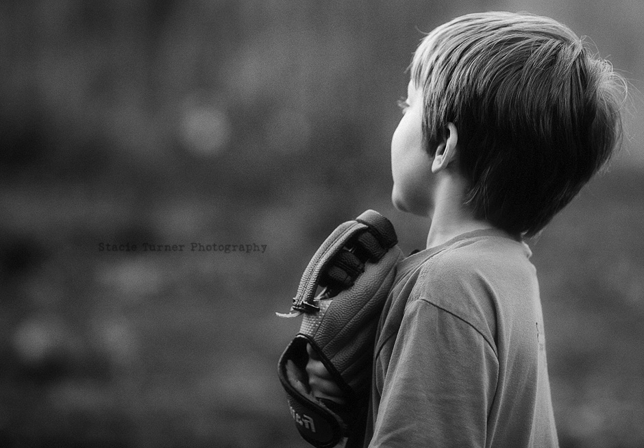 black and white children's imagery by stacie turner