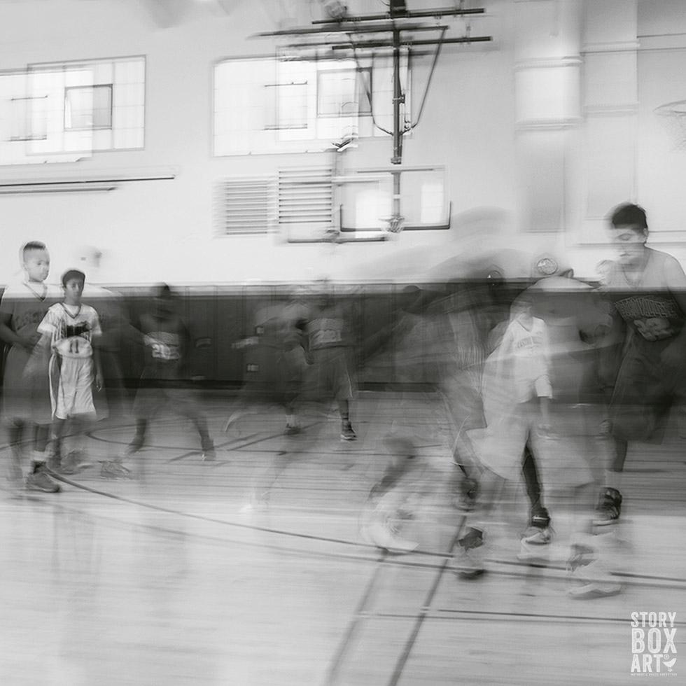 basketball with storyboxart