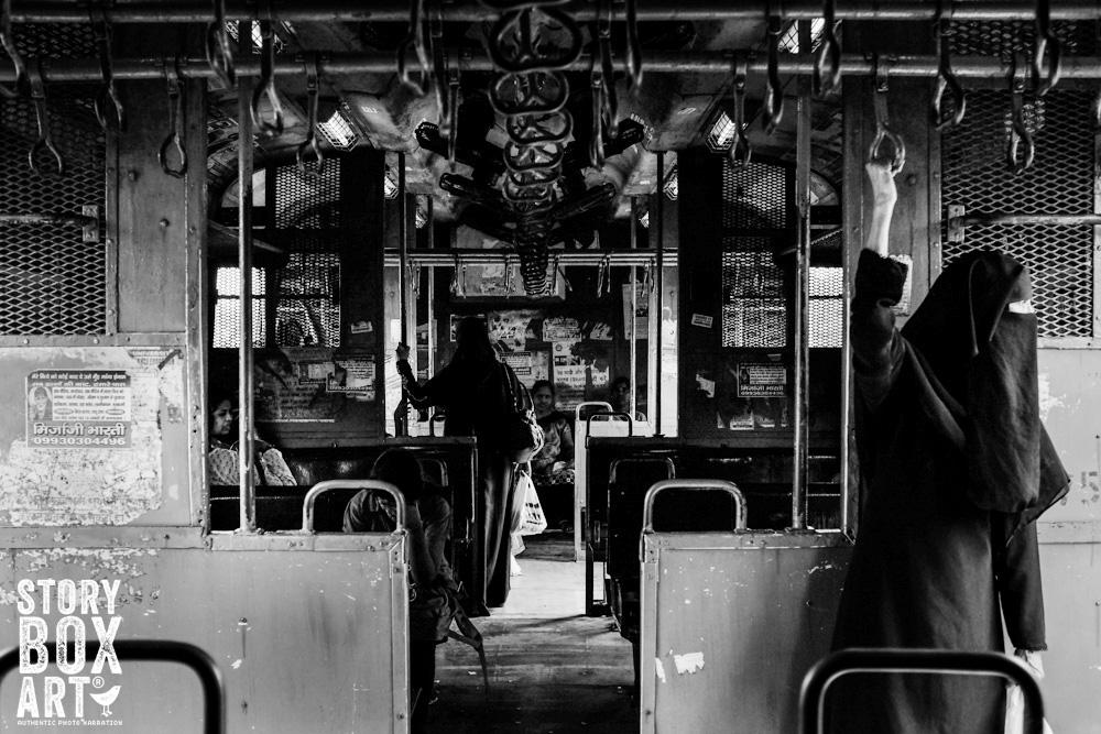 Mumbai City Train Ride by Storyboxart