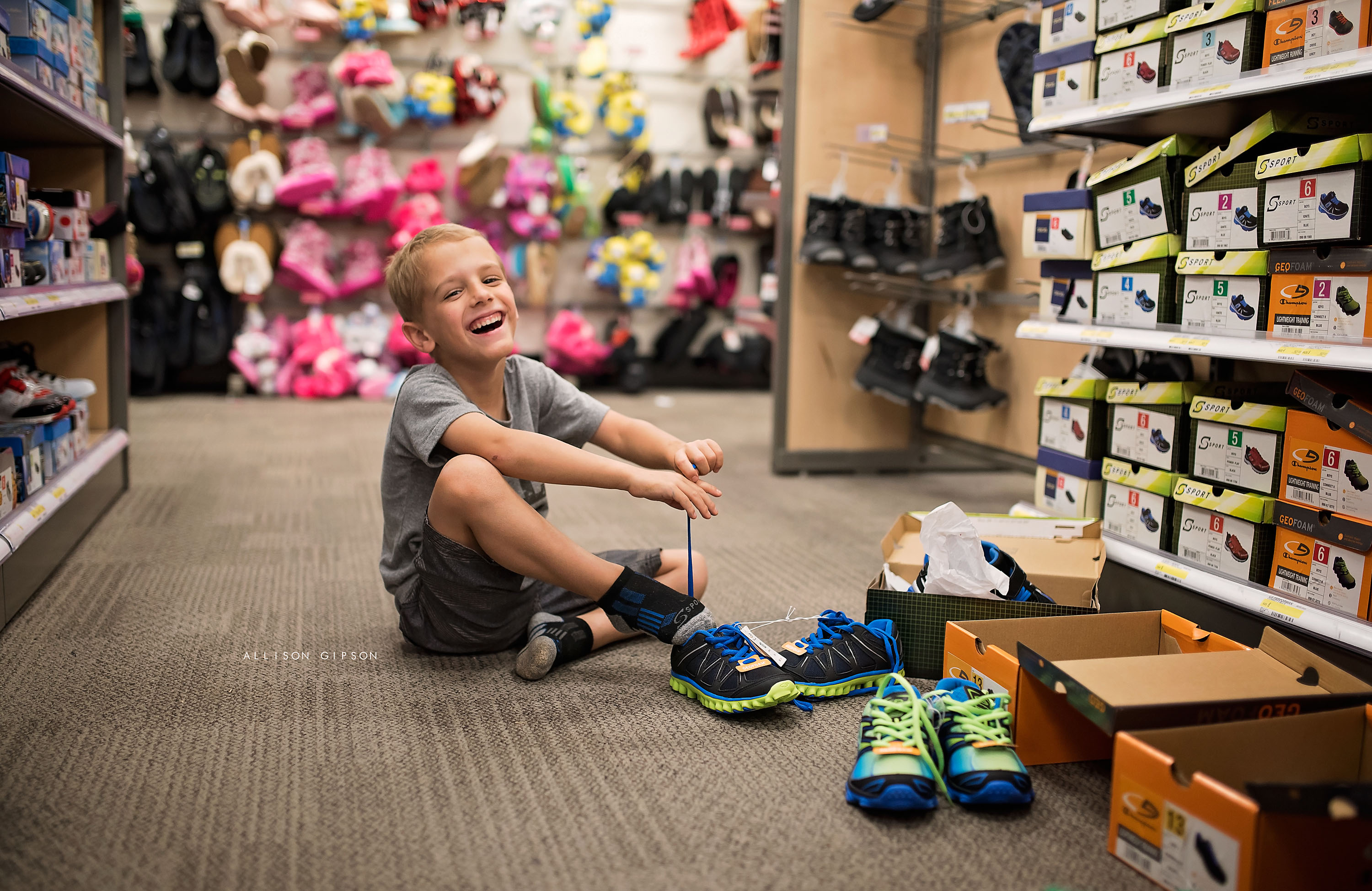 Time for New Shoes - By Allison Gipson