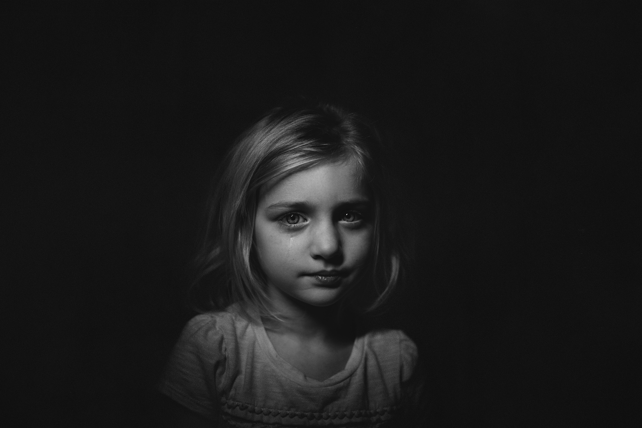 Hello-olivia-photography-sad-little-girl-cry-tear-black ...