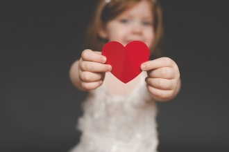 toddler paper heart tiffany kelly