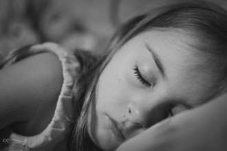 eileencritchley__sleeping_girl_black_and_white_