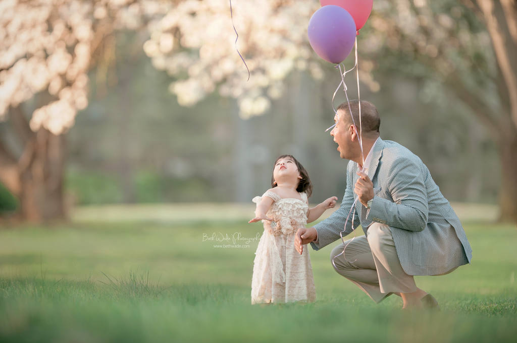 daddy daughter session - charlotte baby photographer beth wade