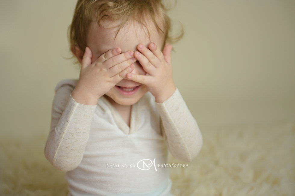Peek A Boo by long Island baby photographer Chavi Malka