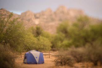 Desert Camping Freelensed