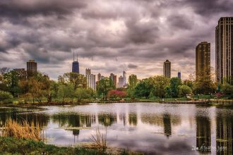 Chicago reflection_