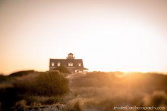 Sunrise at Oregon Inlet Lifesaving Station © Jennifer Carr Photography Virginia Beach-21 -for DP
