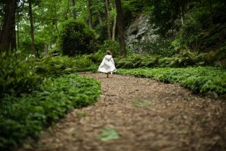 little-white-riding-hood-forest-path-Sarah-Hodges-Child-Photography