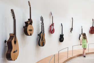 musical instrument museum phoenix |%22in the hall of guitars%22_by Eileen Critchley