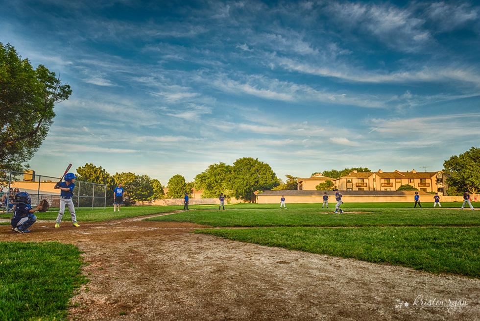 Baseball game wm