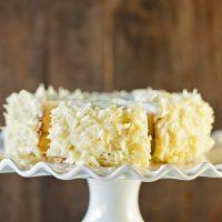 lemon cake food photography by Allison Jacobs