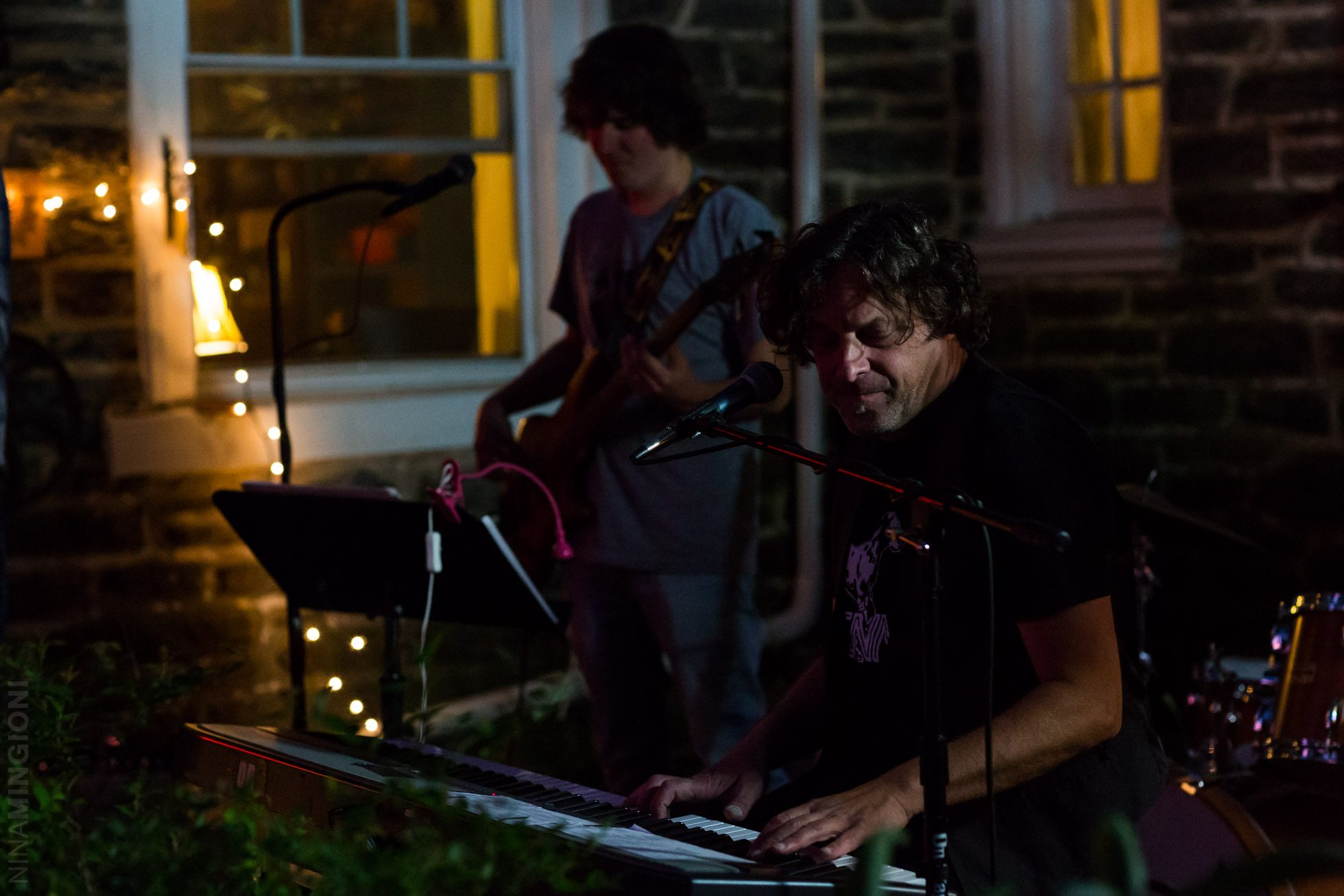 backyard concert by nina mingioni