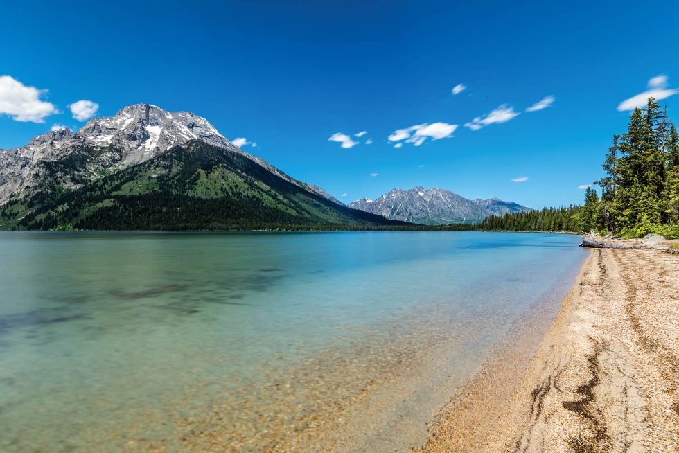 Glacial waters of Leigh Lake