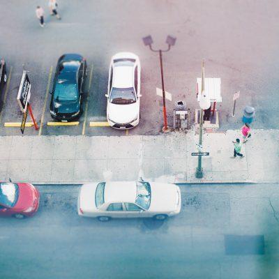 pedestrians in San Antonio {fuji film}  %22pedestrians%22_by Eileen Critchley