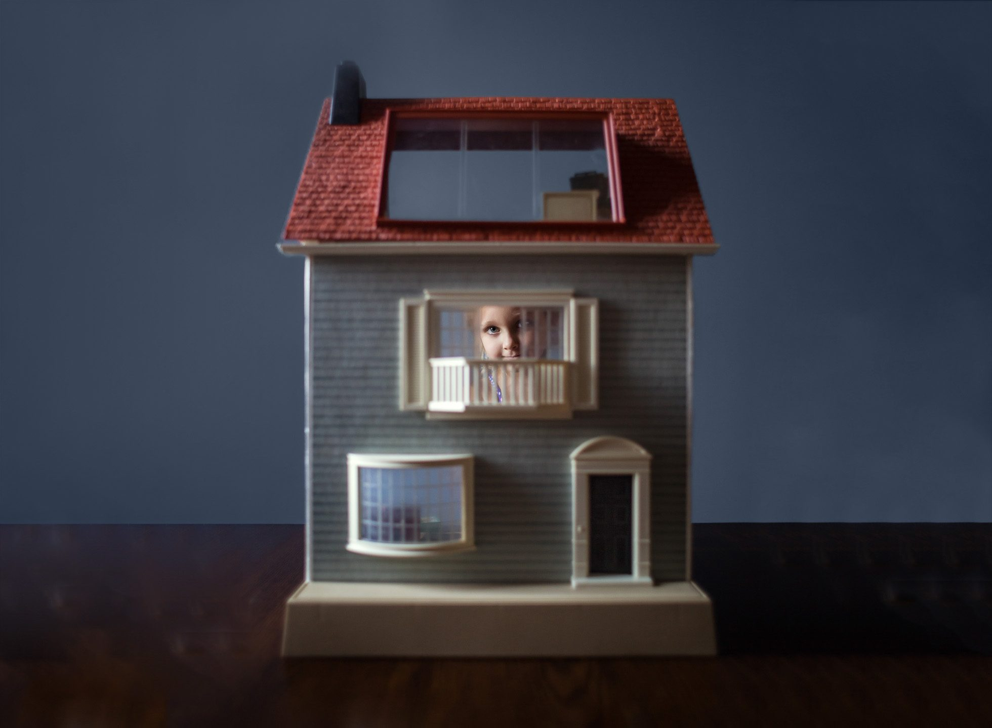 Vintage Dollhouse By Kate Luber
