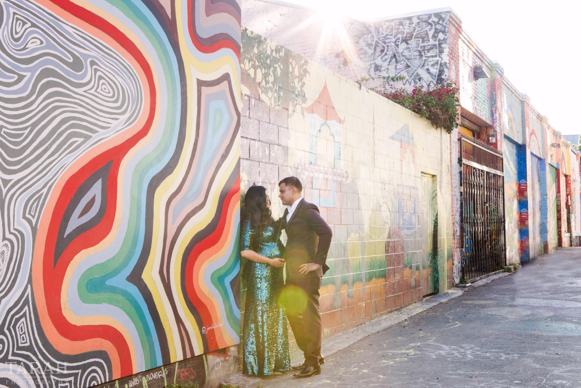 Maternity san francisco graffiti mural