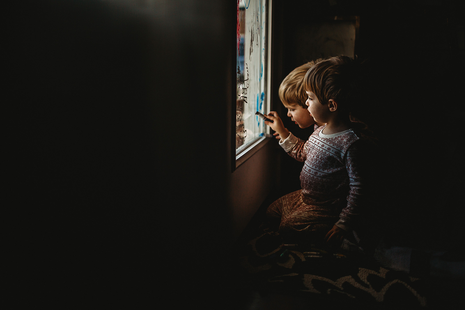 Indoor low light child photography