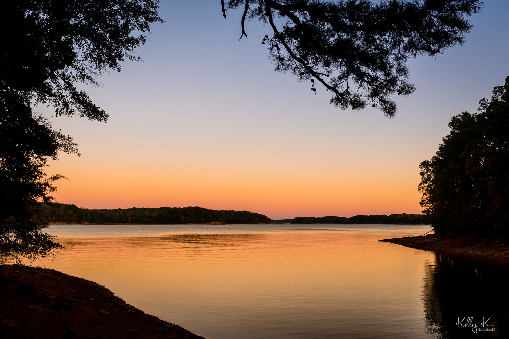 georgia-lake-sunset-by-KelleyKPhotography-Smyrna