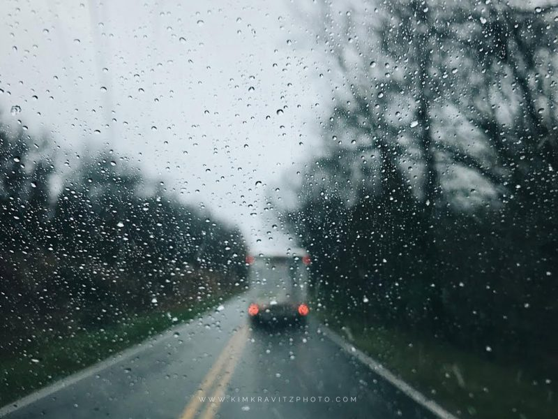 VSCO iPhone7+ mobile photography by kim kravitz southeast kansas Uhaul moving truck on a rainy day