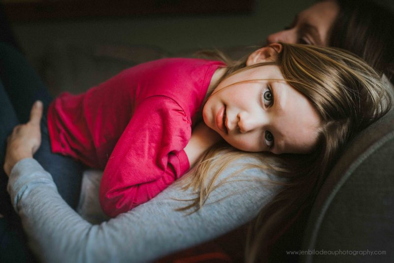 in-home lifestyle family photography