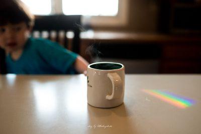 morning-coffee-rainbow-and-child