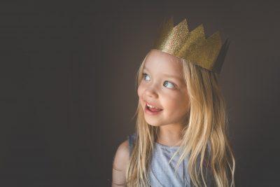 birthday crown portrait tiffany kelly