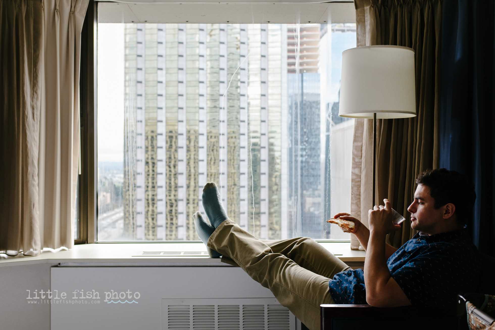 The 28th Floor - Erika Roa, Little Fish Photo