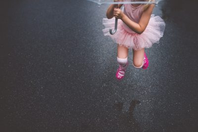 ballerina in the rain tiffany kelly