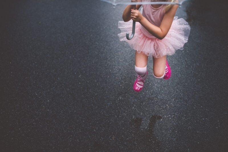 ballerina in the rain tiffany kelly
