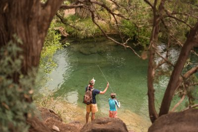 Katie Woodard father son fishing-1
