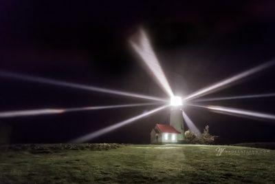 Cape Blanco Lighthouse, Oregon at night