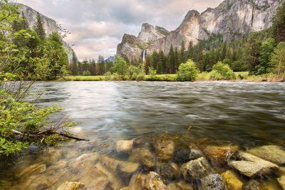 Yosemite Valley of the gods long exposure
