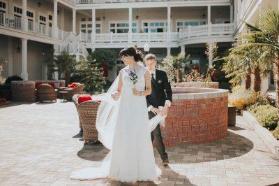 ebony-logins-clickin-moms-daily-project-wedding-victoria-bc-bride-groom-veil-wind-sooke-prestige-hotel