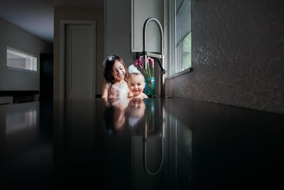 A Sink Bath for Two Sisters