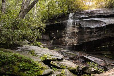 Slick Rock Falls, NC by Nadeen Flynn, northern California photographer