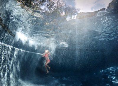 diving deep gopro hero 5 black underwater swimming summer pink blue edmond ok photographer oklahoma city natural light kate luber photography