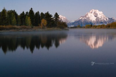 sunrise at Oxbow Bend, WY