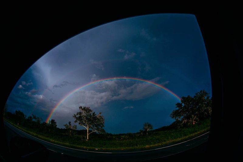 rainbow fisheye