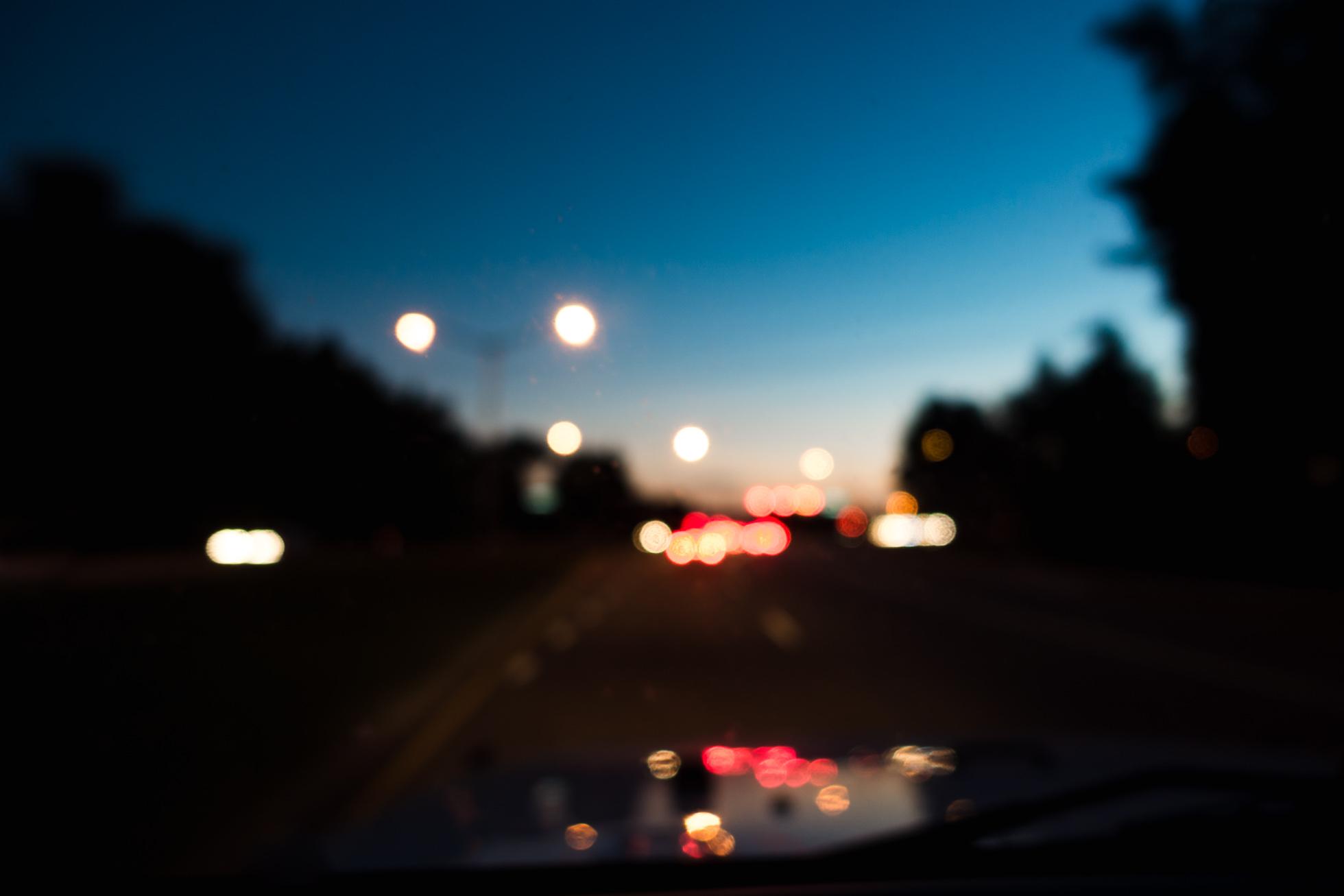 Night Lights & Night Lights by Jennifer Carr