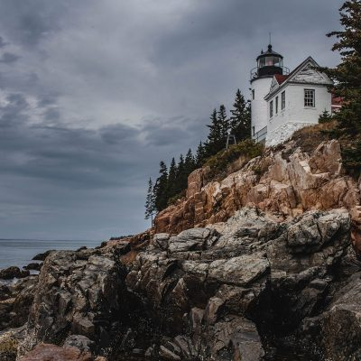 Lighthouse in Maine by Chelsey Hill Photography