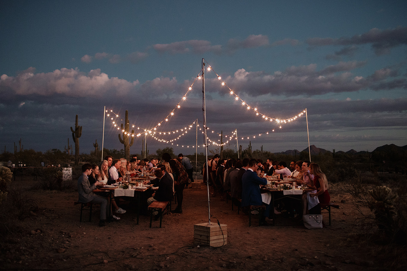 phoenix wedding photographer desert cloth and flame