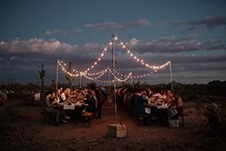phoenix wedding photographer desert cloth and flame