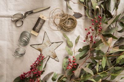 materials for holiday craft making