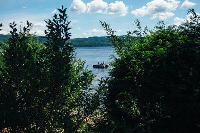 New Hampshire Lake Swimming Dock