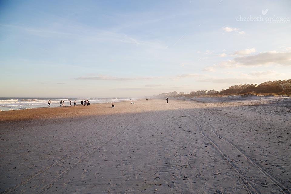 photographers on the beach at sunset, Amelia Island Click Away