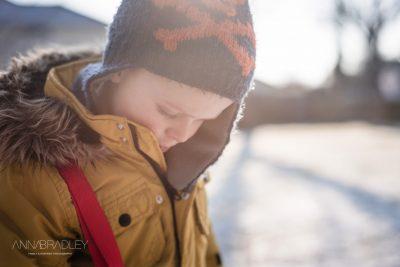 Snow Day Amersham Buckinghamshire family photographer