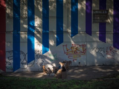 Buenos Aires dog walker by Susan Bahen Photography