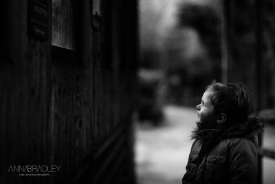 Talking to Monkeys Black and White Amersham Buckinghamshire Photographer