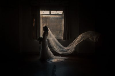 Documentary wedding photographer San Francisco bride